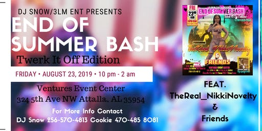 END OF SUMMER LEO BASH
