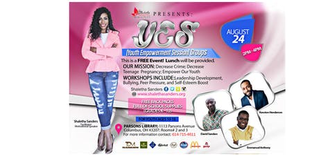 Y.E.S. (Youth Empowerment Sessions) Groups tickets