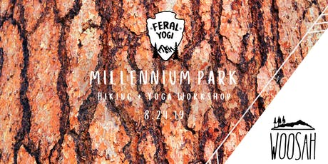 FERAL YOGI + WOOSAH Millennium Park Hiking & Yoga Workshop! tickets