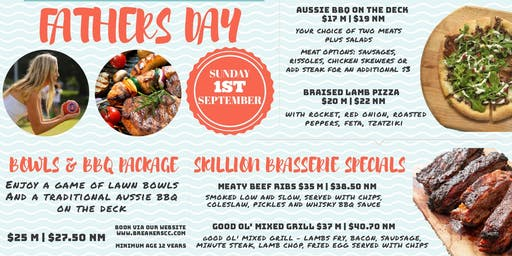 Fathers Day Bowls and BBQ Package