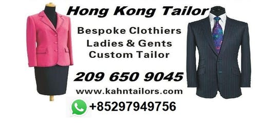Hong Kong Bespoke Tailors London Tour