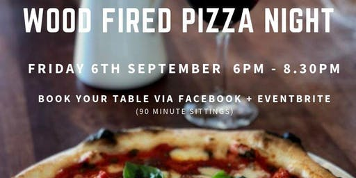 SEPTEMBER WOOD FIRED PIZZA NIGHT at Philip Shaw Wines
