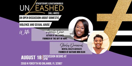 Unleashed: An Open Discussion About Domestic Violence and Sexual Abuse