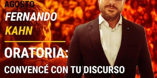 Oratoria: CONVENCE CON TU DISCURSO