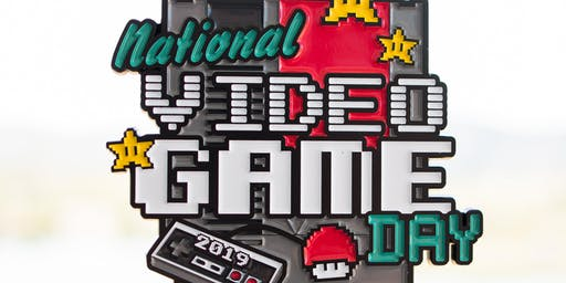 The Video Game Day 1 Mile, 5K, 10K, 13.1, 26.2 -Charlotte