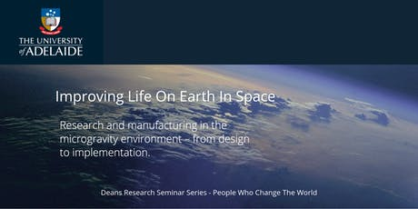 Improving Life On Earth In Space tickets