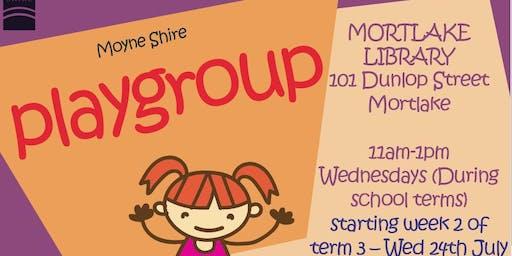Playgroup @ he Mortlake Library