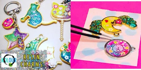 RESIN CHARMS WORKSHOP tickets