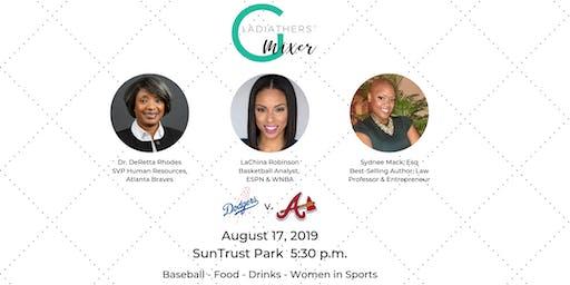 GladiatHers® Women in Sports Mixer at SunTrust Park