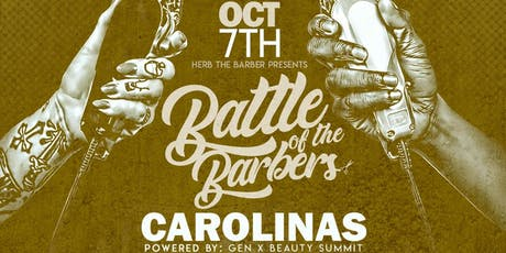 Battle Of The Barbers - Carolinas tickets