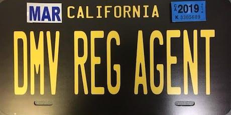 Turlock DMV Registration Agent Training  tickets