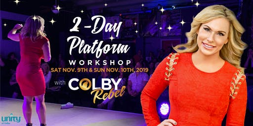 2-Day Platform Workshop with Colby Rebel/Dallas