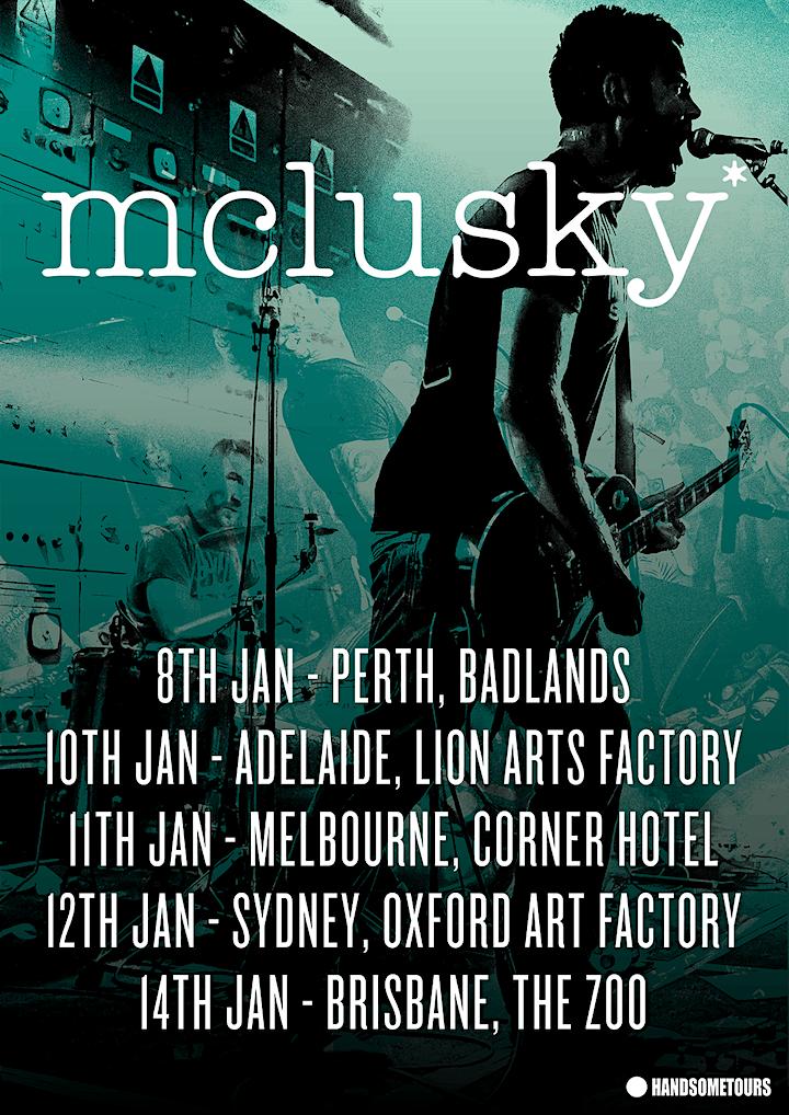 mclusky* - Perth image