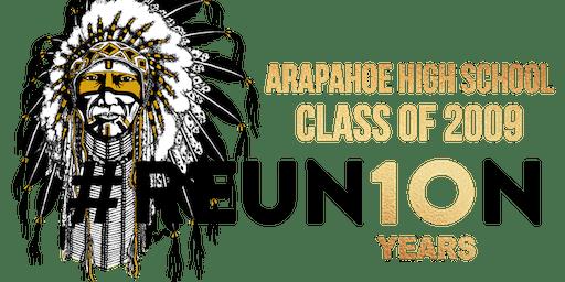 Arapahoe High School Class of 2009 10 Year Reunion