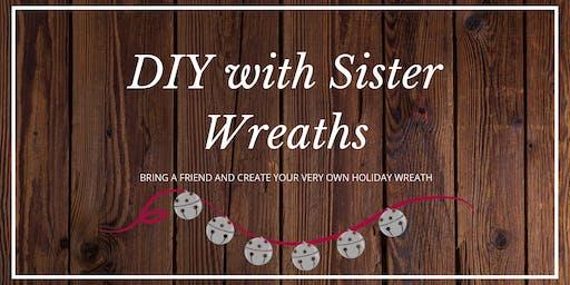 Sister Wreaths DIY Redland Grange