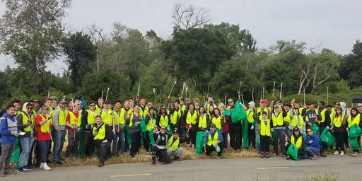 11/2 Coyote Creek Cleanup at Capitol Expressway