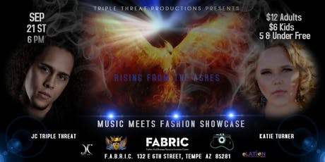 Rising From The Ashes Music and Fashion Showcase tickets