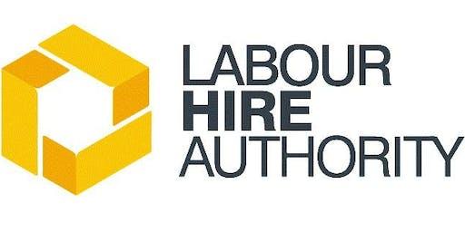 Labour Hire Licensing Scheme Information Session