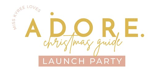 Adore Christmas Online Magazine Launch Party