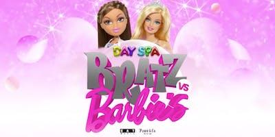 Day Spa: Bratz VS Barbie