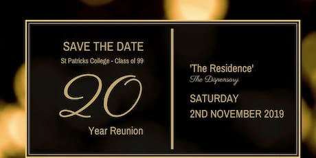 St Patrick's College, Mackay - Class of 1999, 20 Year Reunion tickets