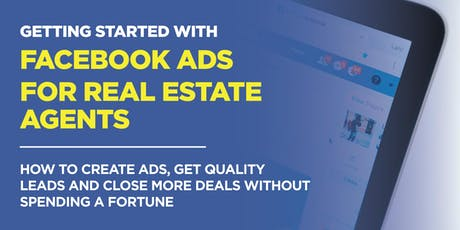 Facebook Ads for Real Estate Agents tickets