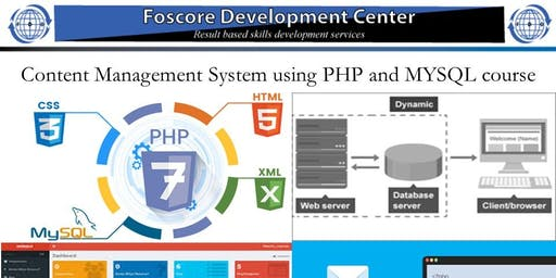 Content Management System using PHP and MYSQL course