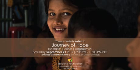 Spreeha Journey of Hope 2019 Fundraiser tickets