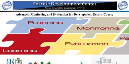 Advanced Monitoring and Evaluation for Development Results Course