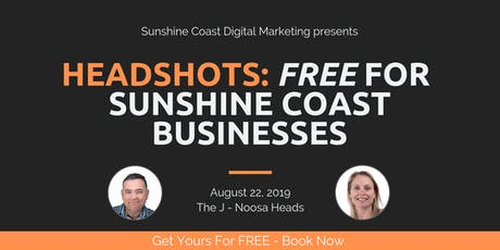 Free Corporate Head Shot Photography Day - FREE 4 Sunshine Coast Businesses tickets