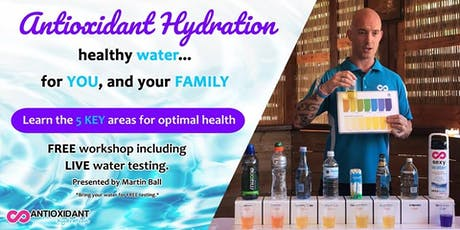 Antioxidant Hydration for Your Health - Currambine, WA tickets