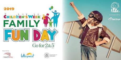 Go for 2& 5 Children's Week Family Fun Day at Whiteman Park tickets