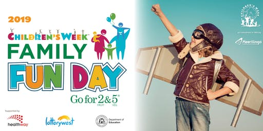 Go for 2& 5 Children's Week Family Fun Day at Whiteman Park