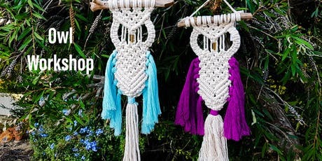 Macrame' Owl Workshop For The Deaf Society tickets