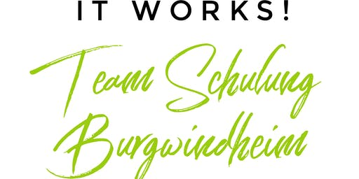 It Works Team Schulung Burgwindheim (Bayern)
