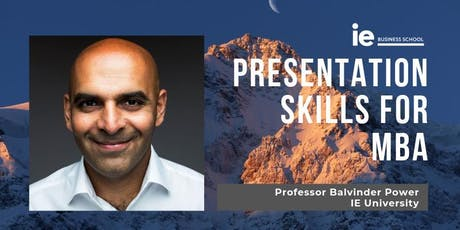 Presentation Skills for MBA  - Tokyo tickets