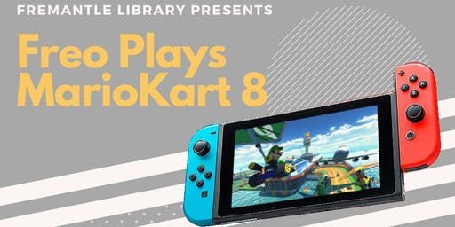 Freo Plays MarioKart 8 Deluxe (December)