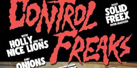 JOE LAMBERT'S 40th BIRTHDAY BASH w/ CONTROL FREAKS & SOLID FREEX + 4 MORE tickets