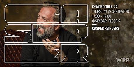C-Word Talk #2 - Casper Reinders tickets