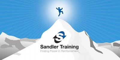 Sandler Sales Mastery: Experience our fortnightly Sales Mastery Training via live video conferencing or face to face at our Training Centre in Basingstoke