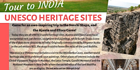 Tour to India - UNESCO Heritage Sites tickets
