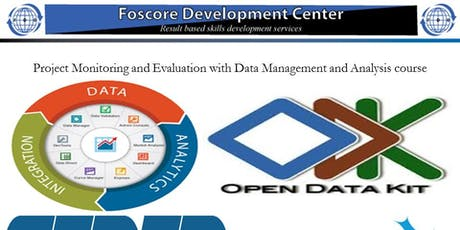Project Monitoring and Evaluation with Data Management and Analysis course tickets