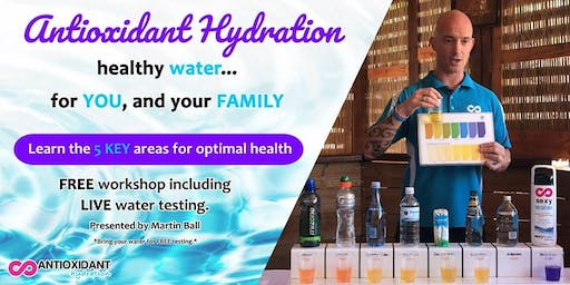 Antioxidant Hydration for Your Health - Butler, WA