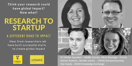 Research to Startup: A different road to impact tickets