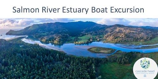 Salmon River Estuary - Boat Excursion & Gyotaku