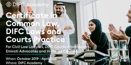 Open-Day:Certificate in Common Law, DIFC Laws and Courts Practice tickets