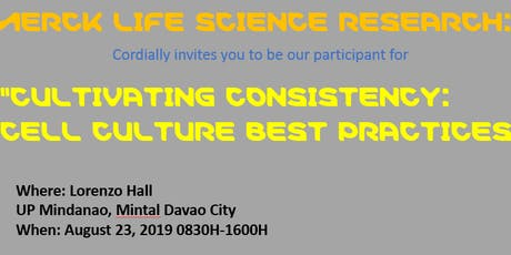 Cultivating Consistency: Cell Culture Best Practices tickets