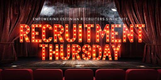 Recruitment Thursday with Jan Tegze