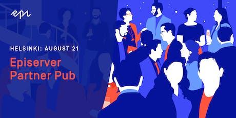 Episerver Partner Pub in Finland tickets