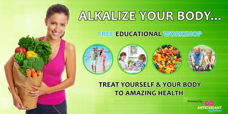 Alkalise Your Body - Currambine, WA tickets